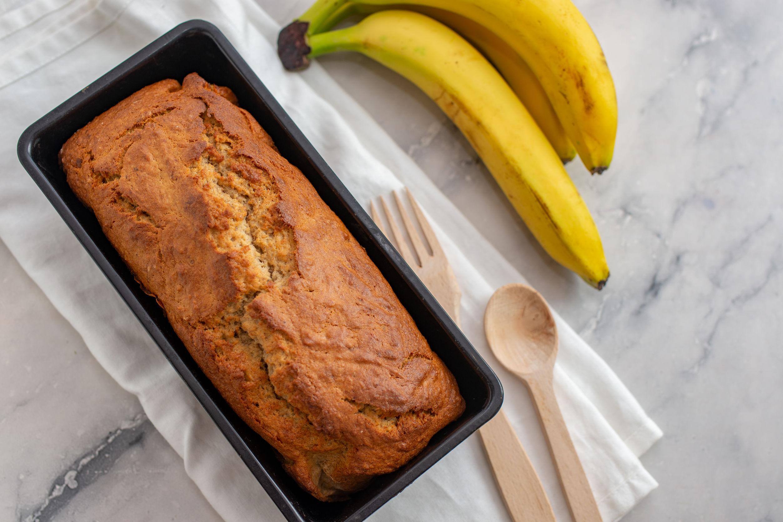 עוגת בננות בקלי קלות, ללא גלוטן!